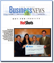 Long Island Business News Article